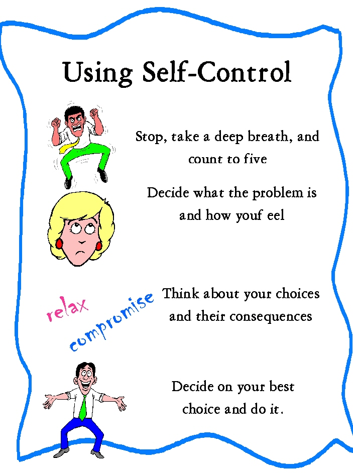 Astounding image within free printable self control worksheets